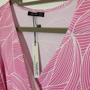 Patty Boutik faux wrap dress